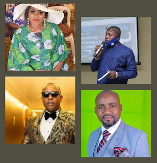 NEWS: NIGERIAN STATE GOVERNORS WITH AIDES ON ENTERTAINMENT