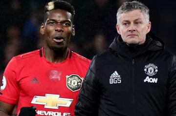 """You Won't See Pogba Go In January"" - Man United Coach Solksjaer"
