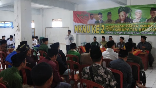 Madrasah Kader NU ke-2 di Bandung Barat Digelar di Ponpes Al-Huda Cililin