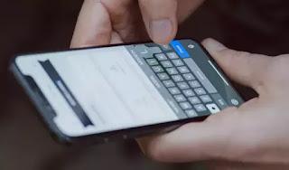 scrittura touchscreen