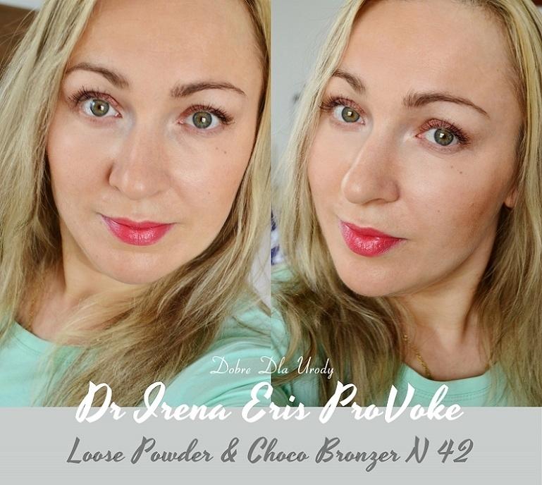 Dr Irena Eris ProVoke Loose Powder Translucent i Choco Bronzer Choco Dark