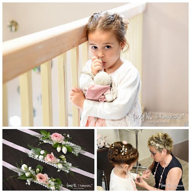 reportage photos préparatifs de la mariée