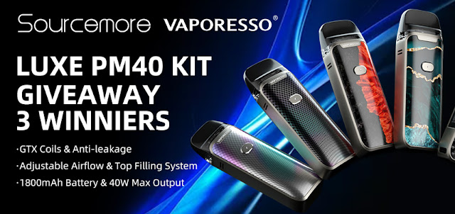 How to get free Vaporesso Luxe PM40 Kit?