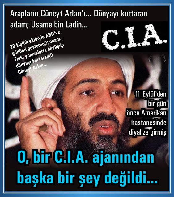 11 eylül 2001, cia, el kaide, mossad, usame bin laden, akademi dergisi, Mehmet Fahri Sertkaya, cnn, yaser arafat, bill clinton, gizlenen gerçekler, gerçek yüzü,