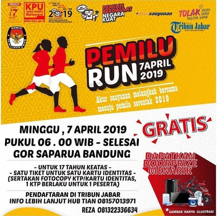 Pemilu Run - Bandung • 2019