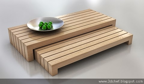 free 3d model low table
