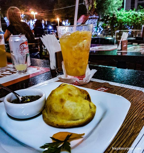 Empanada argentina do Rincon Bueno, Salvador