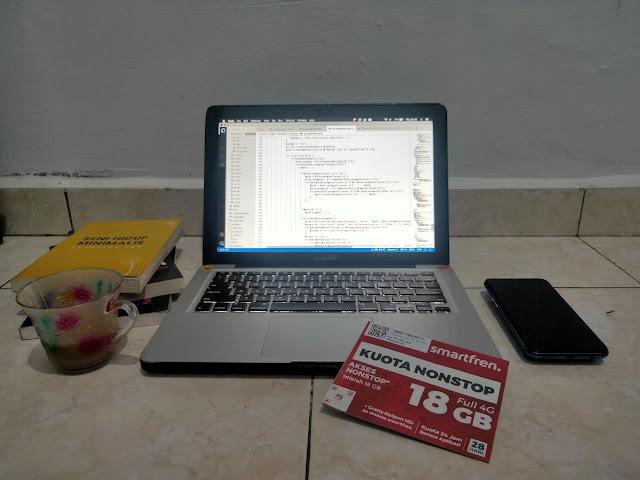 workspace with smartfren