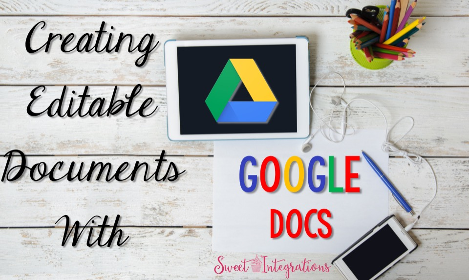 Are you tired of dealing with stacks of papers? I've provided you steps in creating editable documents with Google Docs.