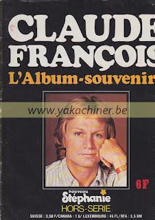 Claude François, l'album souvenir