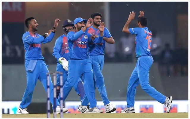 India win the T20 series 7 times