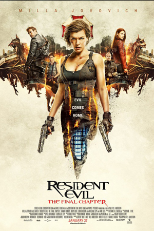Jadwal RESIDENT EVIL: THE FINAL CHAPTER di Bioskop