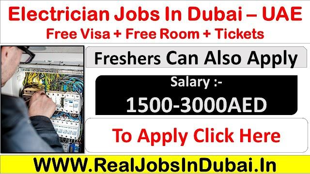 Electrician Jobs In Dubai  UAE 2021