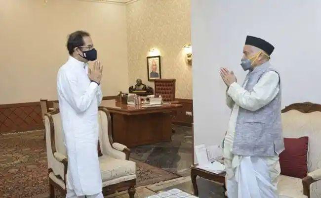 महाराष्ट्राचे मुख्यमंत्री उद्धव ठाकरे हे आज राज्यपालांच्या भेटीला जाणार