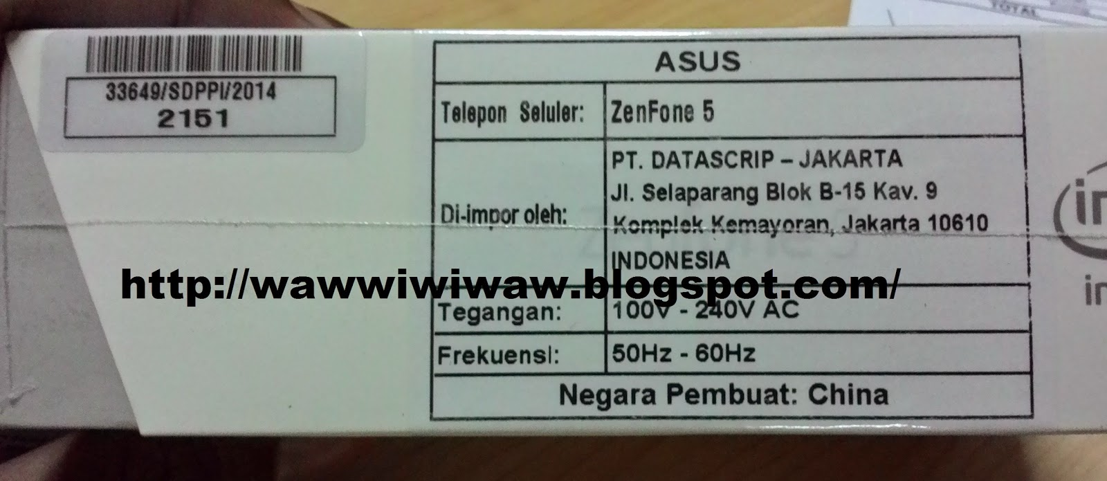waw's land: Unboxing Zenfone 5 (by Lazada's packing)