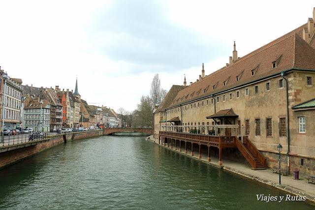 Antigua aduana Estrasburgo