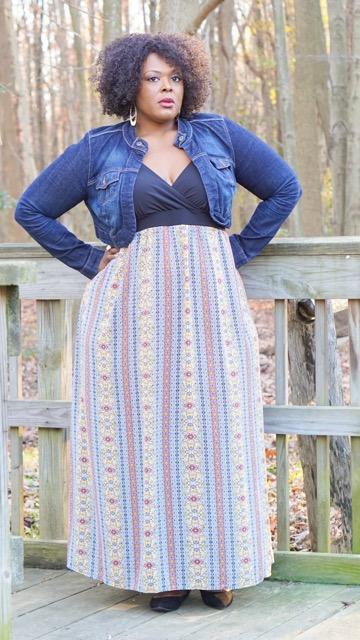 bigbelladonna, sydney's closet, roxanna dress,sydney's closet, sydneys closet roxanna maxi dress