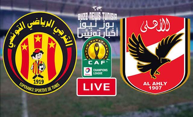 Watch Match Esperance vs Al Ahly Streaming