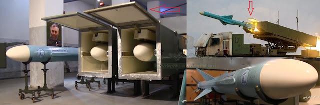 الصواريخ الايرانية المضادة للسفن حزب الله -  iran anti ship missiles Hezbollah