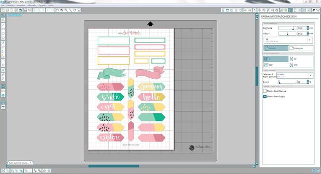 Come utilizzare i file dxf nella modalità Print & Cut | Silhouette Cameo 1