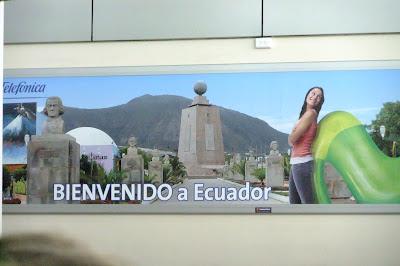 In The Door Of Ecuador