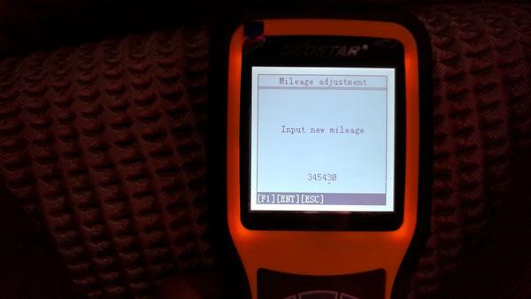 input new mileage: 345430