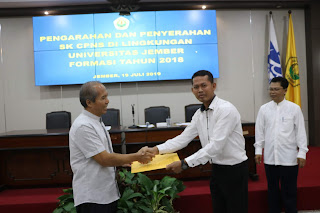 Rektor UNEJ : Dosen Universitas Jember Harus Pancasilais