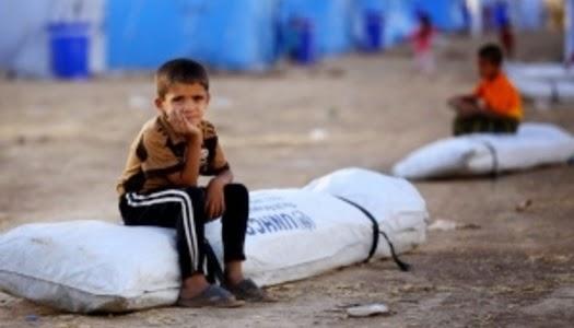 Niños cristianos refugiados en Irak