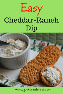 Easy Cheddar-Ranch Dip