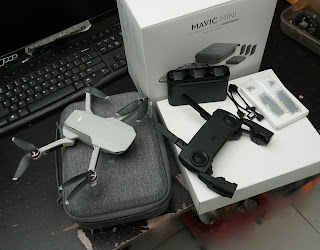 Drone DJI Mavic Mini Fly More Combo Bekas