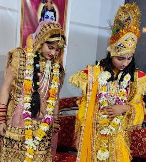 श्री कृष्ण रासलीला और रुक्मणी विवाह की कथा का किया बखान