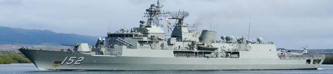 India, Australia Begin 5-Day Naval Exercise