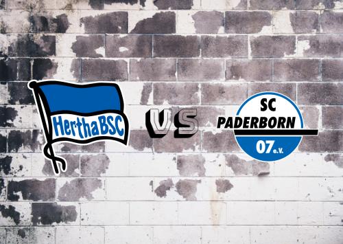Hertha BSC vs Paderborn  Resumen