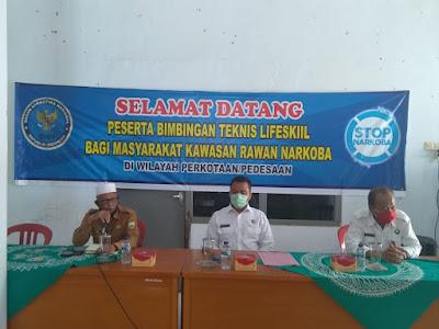 Kepala BNNP Jambi Buka Kegiatan Pelatihan Bimtek Untuk Masyarakat Di Kawasan Rawan Narkoba Di Pedesaan Dan Kota