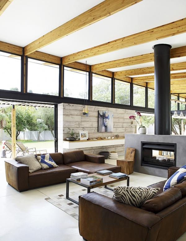 Casa con interior simple y funcional chicanddeco
