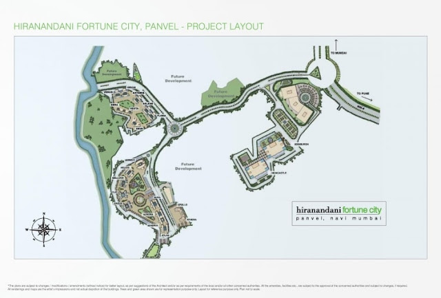 Hiranandani Fortune City Master Plan