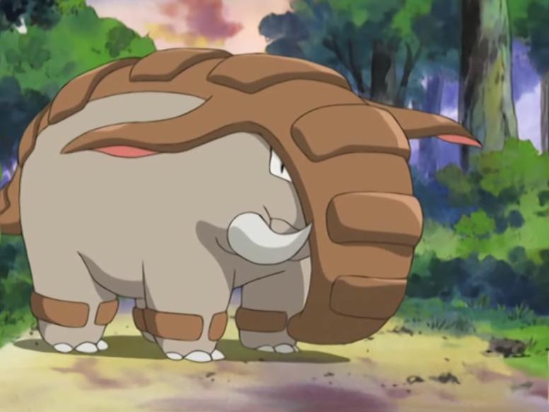 Donphan Shiny Anime Pokémon