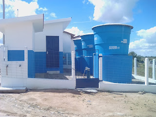 População cacimbinhense é beneficiada no projeto água doce.