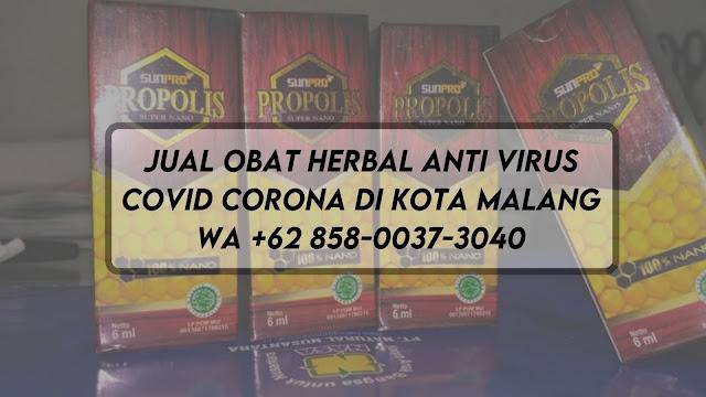 Jual Obat Herbal Anti Virus Covid Corona di Kota Malang