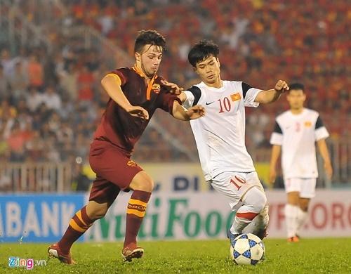 U19 Việt Nam gặp U19 AS Roma