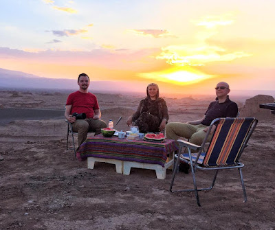 If you ever wish to chase anything in life, let it be a glorious sunset as it never fails to impress. Watching Spectacular summer sunset at the desert in Iran would be an unforgettable and unique experience. Where have you seen your most memorable sunset ?