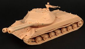 Build review: 1/35th scale Soviet Object 703 Version II from Resin Scales