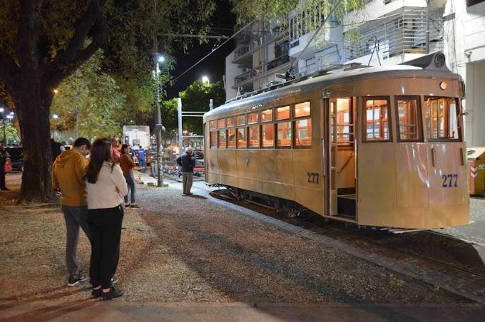 Tres mil visitantes tuvo el tranvía histórico de Rosario durante su vuelta a las calles