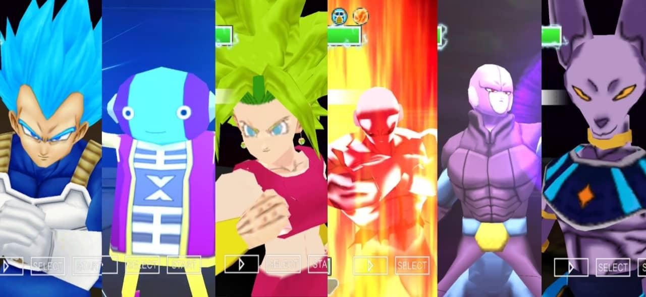 Dragon Ball Super Tournament of Power DBZ TTT