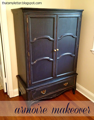 diy armoire makeover