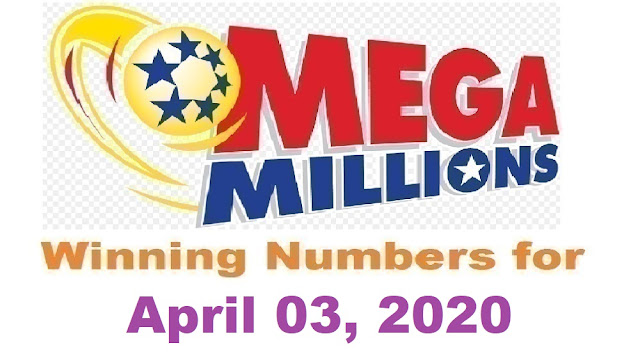 Mega Millions Winning Numbers for Friday, April 03, 2020