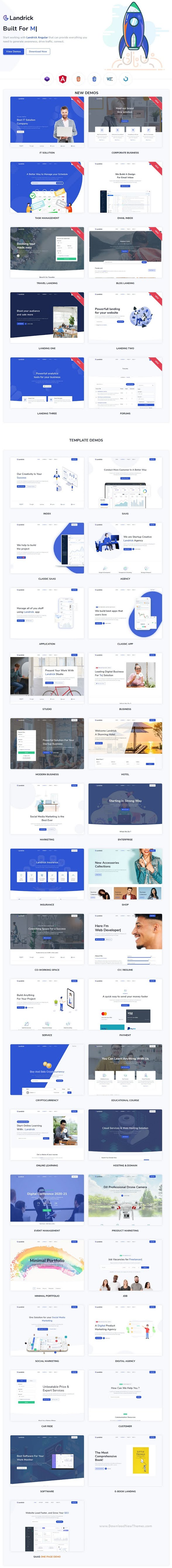 Best Multipurpose Landing Page Template