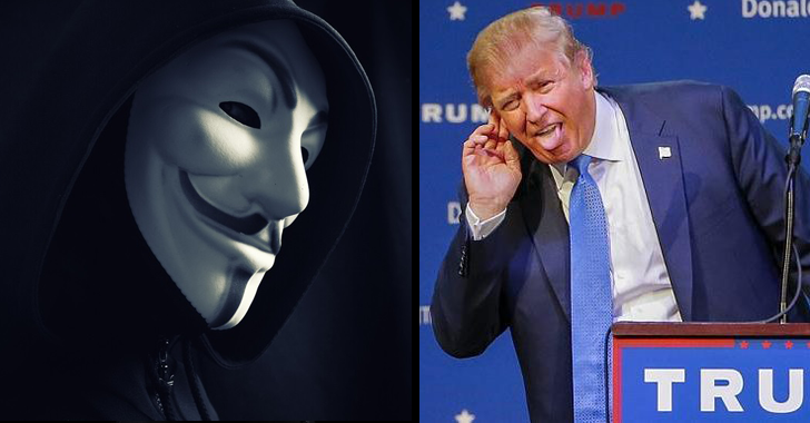 Anonymous claims they Hacked Donald Trump ...Really?
