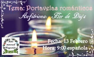 RMB Portavelas Romanticos