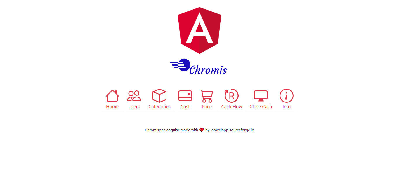 Unicenta pos with online clouds angular apps